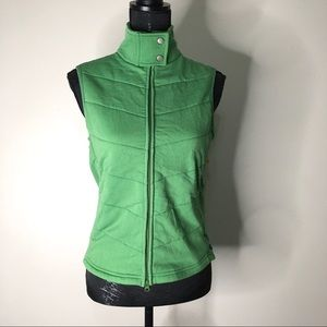 Athleta High Collar Vest